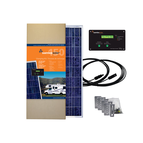Samlex Solar Charging Kit - 150W - 30A [SRV-150-30A] - point-supplies.myshopify.com