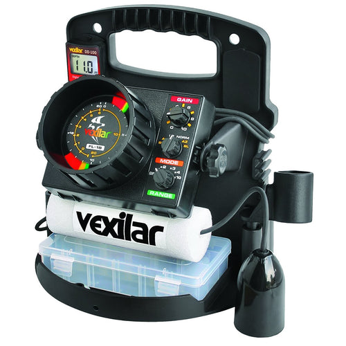 Vexilar FL-18 ProPack II w-12 Ice Ducer [PP1812D] - point-supplies.myshopify.com