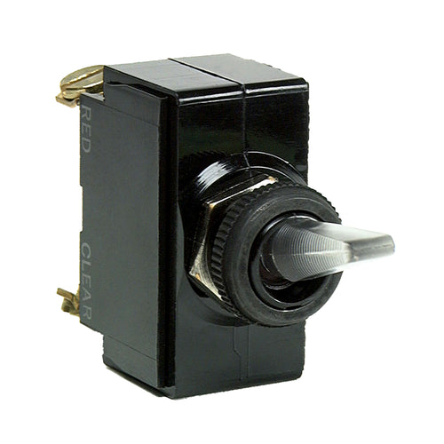 Cole Hersee Illuminated Toggle Switch SPST On-Off 4 Screw [54109-BP] - point-supplies.myshopify.com