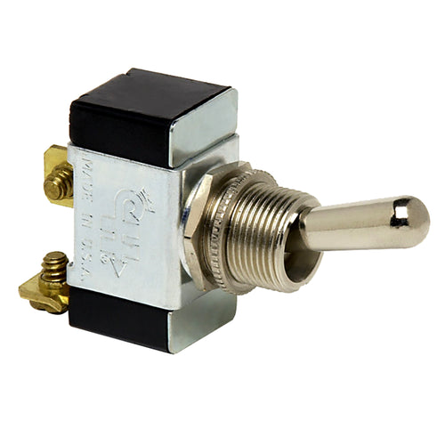 Cole Hersee Heavy Duty Toggle Switch SPST On-Off 2 Screw [5582-BP]-Cole Hersee-Point Supplies Inc.