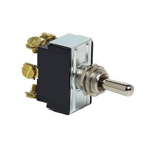 Cole Hersee Heavy Duty Toggle Switch DPDT (On)-Off-(On) 6 Screw [55054-BP]-Cole Hersee-Point Supplies Inc.