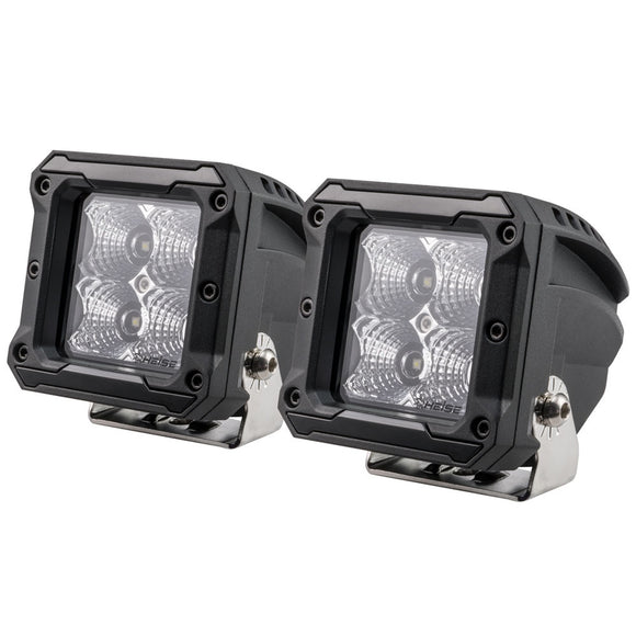 HEISE 4 LED Cube Light - Flood - 3