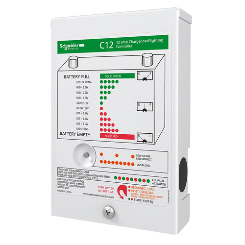 Xantrex C-Series Solar Charge Controller - 12 Amps [C12]-Xantrex-Point Supplies Inc.