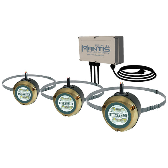 Lumitec Mantis Underwater Dock Lighting System - RGBW Full-Color [101525] - Point Supplies Inc.