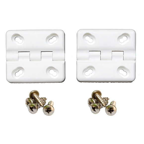Cooler Shield Replacement Hinge f/Coleman  Rubbermaid Coolers - 2 Pack [CA76312] - Point Supplies Inc.