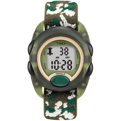 Timex Kids Digital Nylon Strap Watch - Camoflauge [T71912XY]-Timex-Point Supplies Inc.