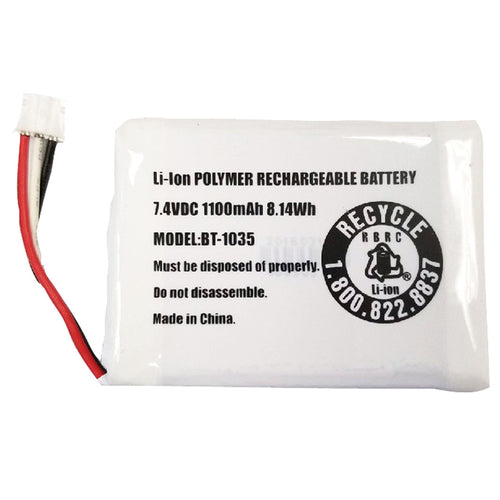 Uniden Replacement Battery Pack f-Atlantis 270 [BBTG0920001]-Uniden-Point Supplies Inc.