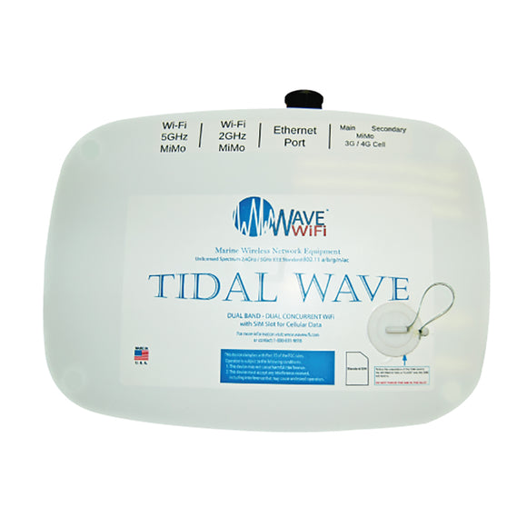 Wave WiFi Tidal Wave Dual - Band + Cellular [EC-HP-DB-3G-4G] - point-supplies.myshopify.com