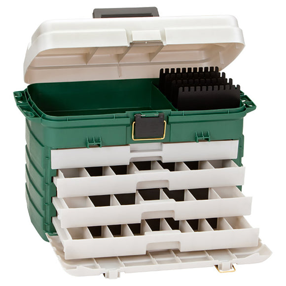 Plano 4-Drawer Tackle Box - Green Metallic/Silver [758005] - Point Supplies Inc.
