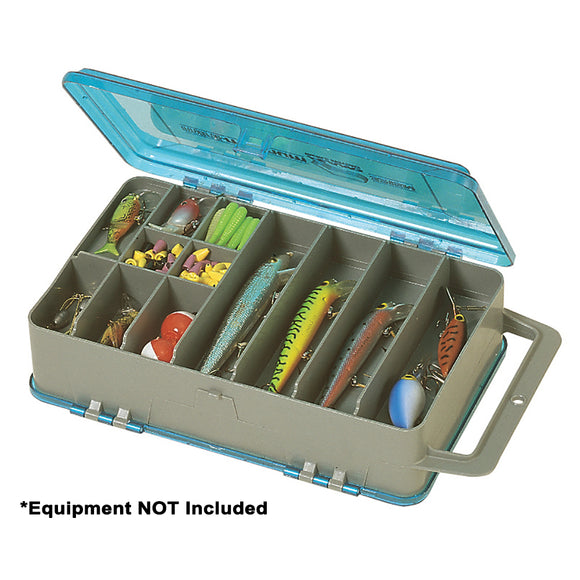 Plano Double-Sided Tackle Organizer Medium - Silver/Blue [321508] - Point Supplies Inc.