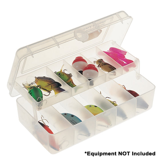 Plano One-Tray Tackle Organizer Small - Clear [351001] - Point Supplies Inc.