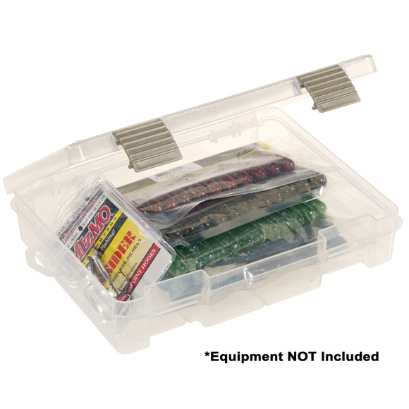 Plano ProLatch Open-Compartment Stowaway Half-Size 3700 - Clear [2371500] - Point Supplies Inc.