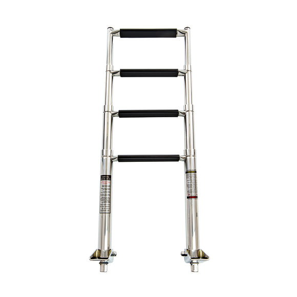 Whitecap 4-Step Telescoping Swim Ladder [S-1854] - point-supplies.myshopify.com