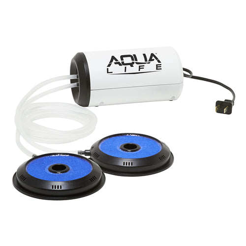 Frabill Aqua-Life Aerator Dual Output 110V - Greater Than 100 Gallons [14212]-Frabill-Point Supplies Inc.