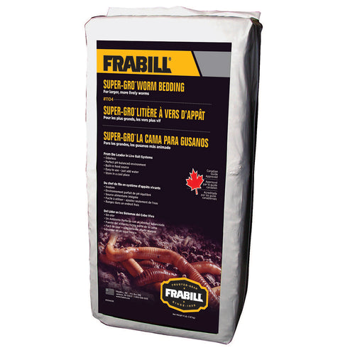 Frabill Super-Gro Worm Bedding - 4lbs [1104]-Frabill-Point Supplies Inc.