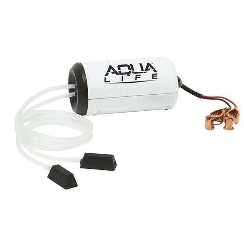 Frabill Aqua-Life Aerator Dual Output 12V DC Greater Than 25 Gallons [14213]-Frabill-Point Supplies Inc.