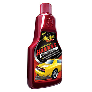 Meguiars Clear Coat Safe Rubbing Compound - 16oz [G18016] - Point Supplies Inc.