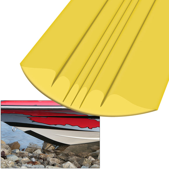 Megaware KeelGuard - 8 - Yellow [21108] - Point Supplies Inc.