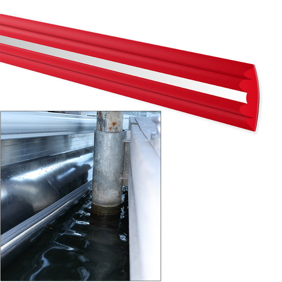 Megaware PontoonGuard - 32 Kit - (2) 16 Guards f/Pontoon Up To 21 - Red [31632] - Point Supplies Inc.