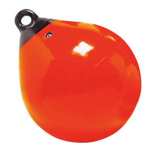 "Taylor Made 12"" Tuff End Inflatable Vinyl Buoy - Orange [61143] - Point Supplies Inc."
