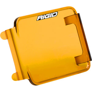 RIGID Industries D-Series Lens Cover - Amber [201933] - Point Supplies Inc.