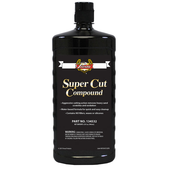 Presta Super Cut Compound - 32oz [134532] - Point Supplies Inc.