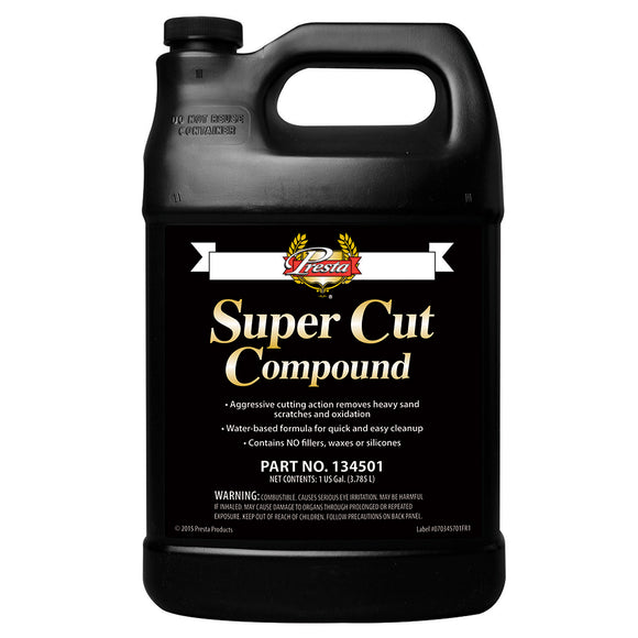 Presta Super Cut Compound - 1-Gallon [134501] - Point Supplies Inc.