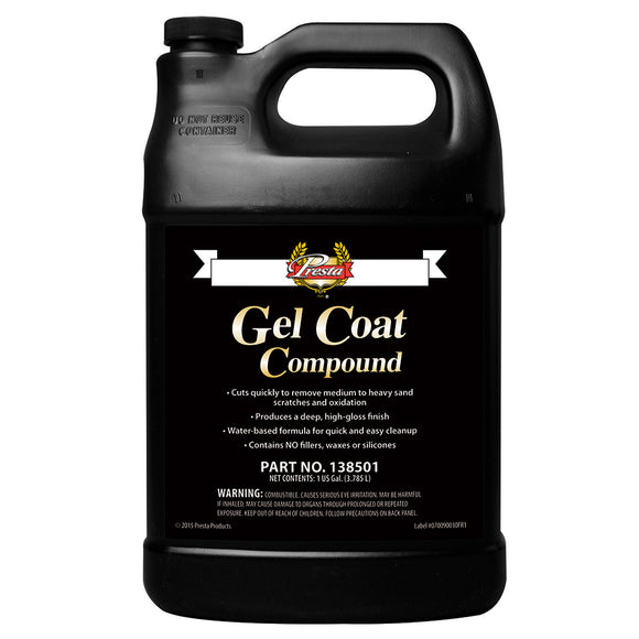Presta Gel Coat Compound - 1-Gallon [138501] - Point Supplies Inc.