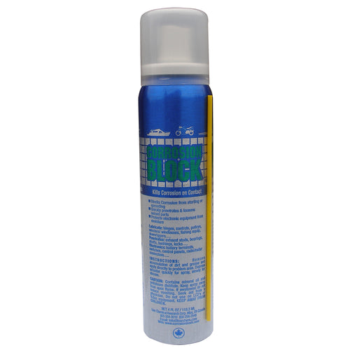 Corrosion Block Liquid Pump Spray - 4oz - Non-Hazmat, Non-Flammable Non-Toxic [20002]-Corrosion Block-Point Supplies Inc.