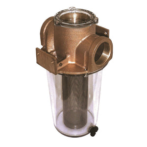"GROCO ARG-1250 Series 1-1/4"" Raw Water Strainer w/Stainless Steel Basket [ARG-1250-S] - Point Supplies Inc."