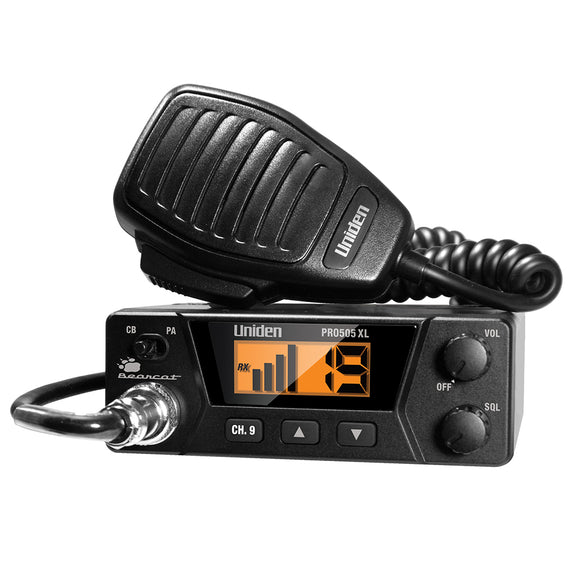 Uniden PRO505XL 40-Channel Bearcat CB Radio [PRO505XL] - Point Supplies Inc.