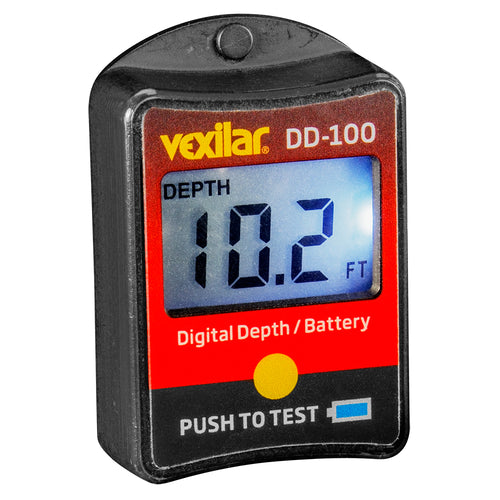 Vexilar Digital Depth  Battery Gauge [DD-100] - point-supplies.myshopify.com