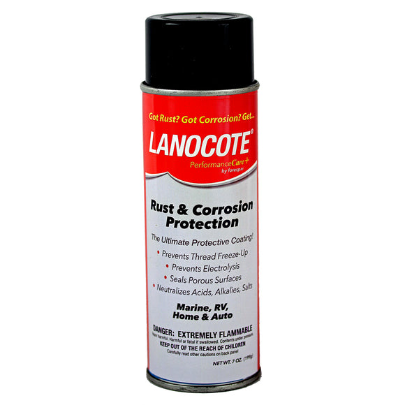Forespar Lanocote Rust  Corrosion Solution - 7 oz. [770002] - Point Supplies Inc.