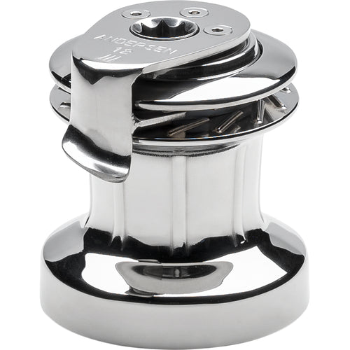 ANDERSEN 12 ST FS Self-Tailing Manual Single Speed Winch - Full Stainless [RA2012010000]-ANDERSEN-Point Supplies Inc.