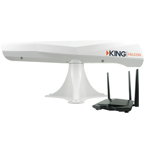 KING Falcon Directional Wi-Fi Extender - White [KF1000]-KING-Point Supplies Inc.
