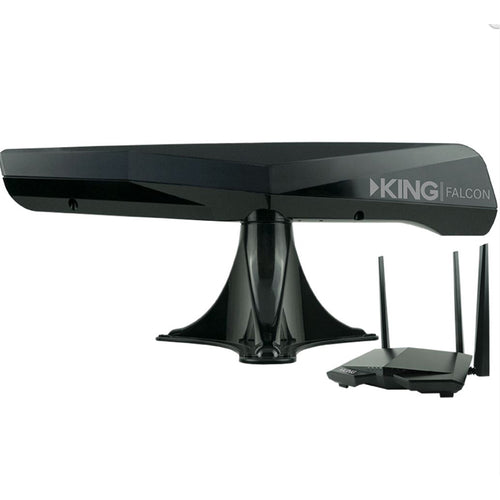 KING Falcon Directional Wi-Fi Extender - Black [KF1001]-KING-Point Supplies Inc.