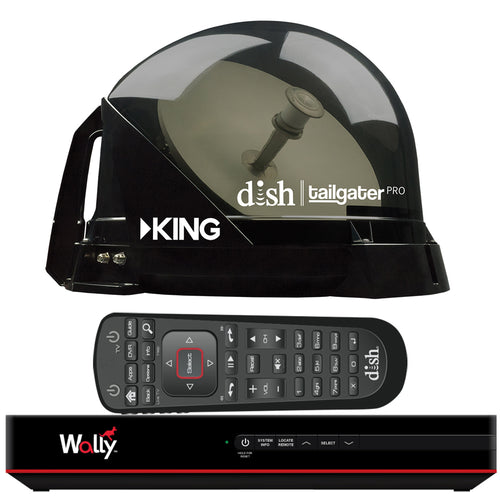 KING DISH Tailgater Pro Premium Satellite Portable TV Antenna w-DISH Wally HD Receiver [DTP4950]-KING-Point Supplies Inc.