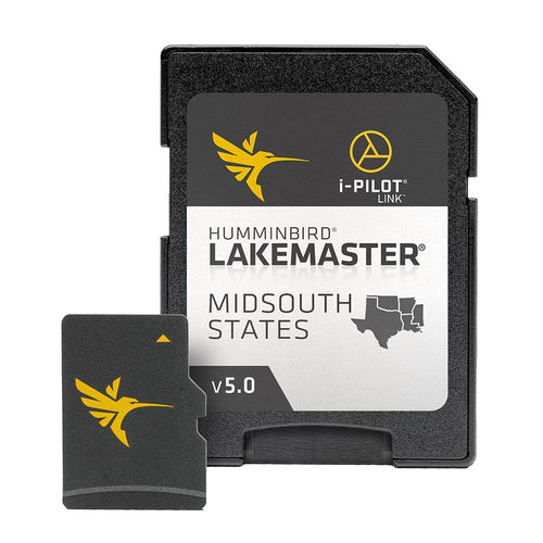 Humminbird LakeMaster Chart - Midsouth States V5 [600009-9] - point-supplies.myshopify.com