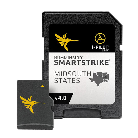 Humminbird SmartStrike Midsouth States - Version 4 [600037-4] - Point Supplies Inc.