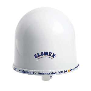 "Glomex 10"" Dome TV Antenna w/Auto Gain Control  Mount [V9126AGC] - Point Supplies Inc."