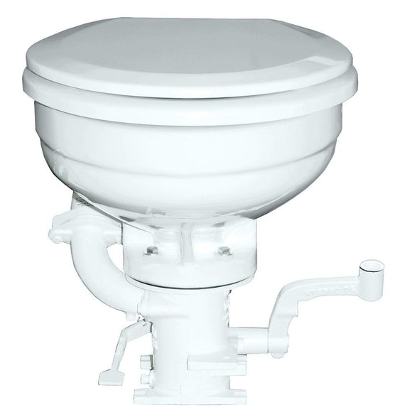 GROCO K Series Hand Operated Marine Toilet [K-H] - Point Supplies Inc.