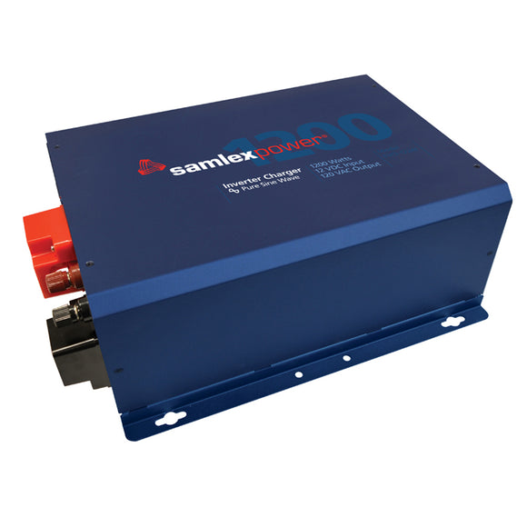 Samlex Evolution F Series 1200W, 120V Pure Sine Inverter/Charger w/12V Input  60 Amp Charger w/Hard Wiring [EVO-1212F-HW] - Point Supplies Inc.