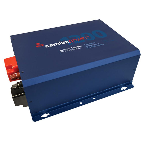Samlex Evolution F Series 1200W, 120V Pure Sine Wave Inverter/Charger w/24V Input  40 Amp Charger w/Hard Wiring [EVO-1224F-HW] - Point Supplies Inc.