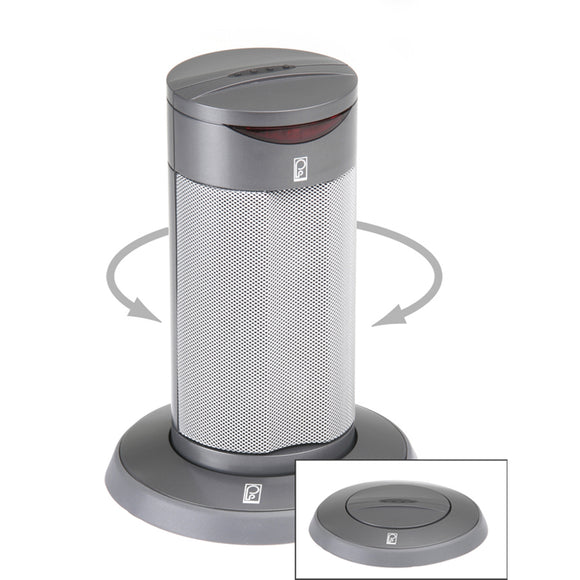 Poly-Planar Round Waterproof Pop-Up Spa Speaker - Gray [SP201RG] - Point Supplies Inc.