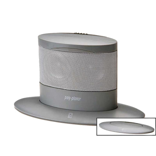 Poly-Planar Oval Waterproof Pop-Up Spa Speaker - Gray [MA7020G] - point-supplies.myshopify.com