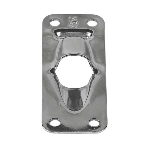 Schaefer Exit Plate-Flat f-Up To 1-2