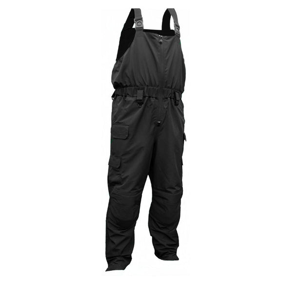 First Watch H20 Tac Bib Pants - XX-Large - Black [MVP-BP-BK-2XL] - Point Supplies Inc.