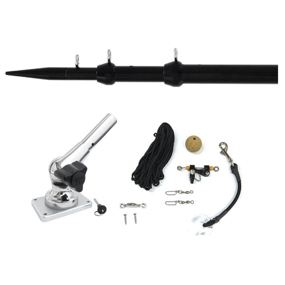 Tigress XD Center Rigger System - 8 - Black Center Rigging Kit [88621-1] - Point Supplies Inc.