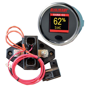 Balmar SG200 Battery Monitor Kit w-Display Shunt 10M Cable - 12-48 VDC [SG200]-Balmar-Point Supplies Inc.
