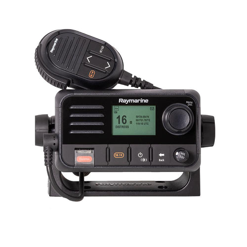 Raymarine Ray53 Compact VHF Radio w-GPS [E70524]-Raymarine-Point Supplies Inc.